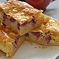 Pithiviers aux framboises