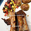 <b>Travers</b> de porc caramélisés