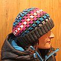Bonnet crochet....