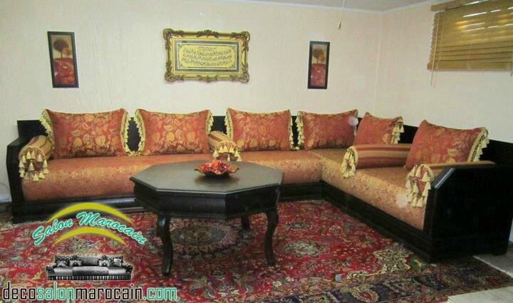 Salon marocain tendance traditionnel salon marocain moderne
