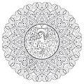 Mandala Cristã: <b>Anjo</b> <b>da</b> <b>Guarda</b>