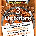 1001 motard(e)s pour la paix et la non-violence, parce que c'est urgent ...