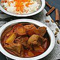 Kalia d'agneau, curry aux épices et au yaourt