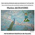 Affiche expo marion alexandre (1)