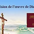 La vision de l'œuvre de Dieu (1)
