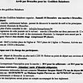 Marche et marché de noël à bruxelles (belgique)