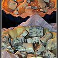Tartelettes poires au cumin et fourme d'ambert