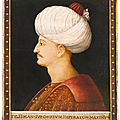 A portrait of Suleyman the Magnificent, by a follower of Gentile Bellini, Italy, probably Venice, <b>circa</b> <b>1520</b>