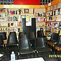 Café littéraire avec serge joncour à la librairie