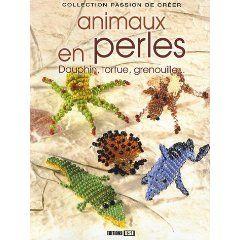 Animaux en perles - Dauphin, tortue, grenouille