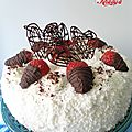 Fraisy coco cake