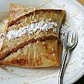 Pastilla aux pommes et amandes