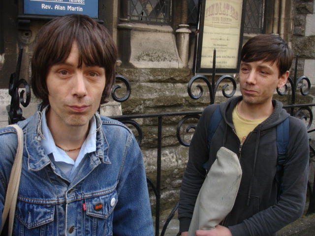 twin brothers, incredible bassist and drummer from ESB