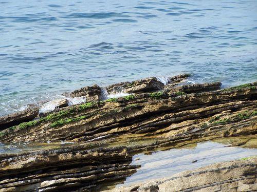 Clin d'oeil-géologie côte basque