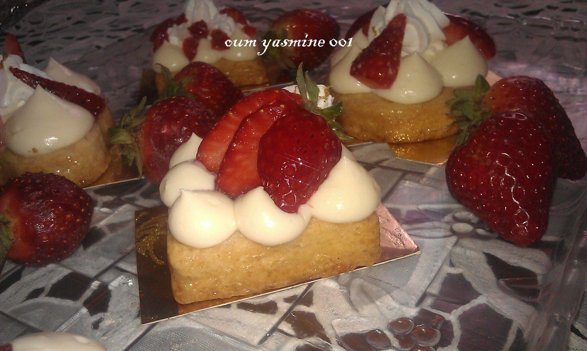 Tartelettes au fraises