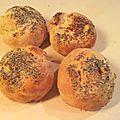 Petits pains express à la pomme de terre