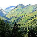 Les montagnes d'Arette...