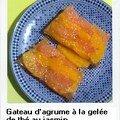 terrine / gateau d'agrume au thé