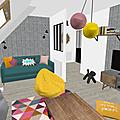Projet client: un étage complètement réagencé