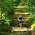 22/05/2106 : trail de l'orangerie de bonnelles (18km) ... une première pour pascale.. un trail boueux