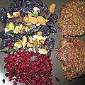 Galettes de kasha (sarrasin torréfié) et farine de teff - sans gluten