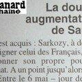 Sarkozy pas si transparent : il perçoit toujours son salaire de ministre de l'intérieur