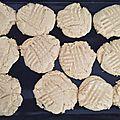 Cookies au beurre de cacahuètes (recette thérapeutique)