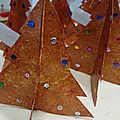 Sapin de Noël en 3D en cartonnette