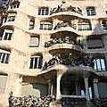 Barcelone, Gracia, La pedrera, Jujol_6319