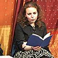 Marina Skalova, à la Rencontre poétique chez <b>Tiasci</b>-Paalam en novembre 2017