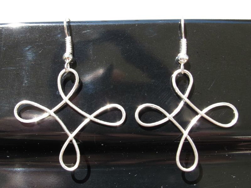 BO rosace wire argent