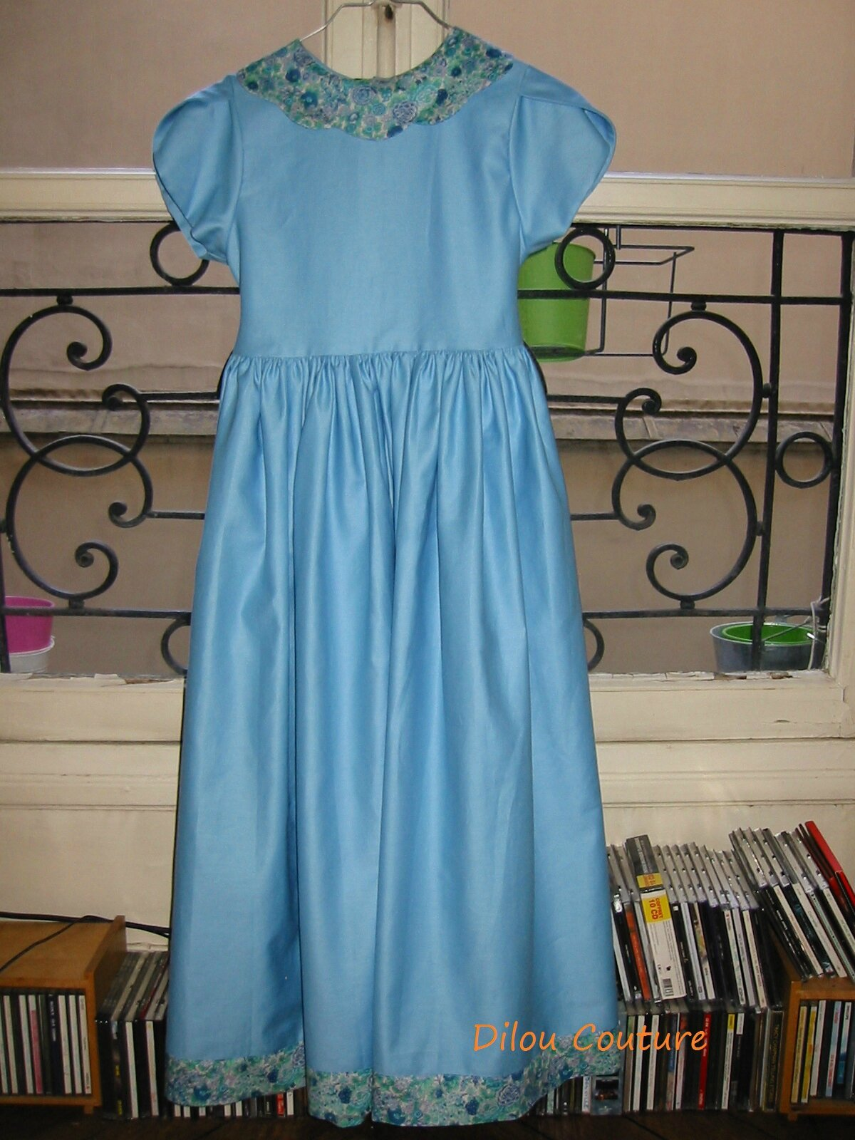 Robe photo cortège bleu - Liberty4