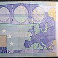 Billet 20€ fauté slovénie non numéroté