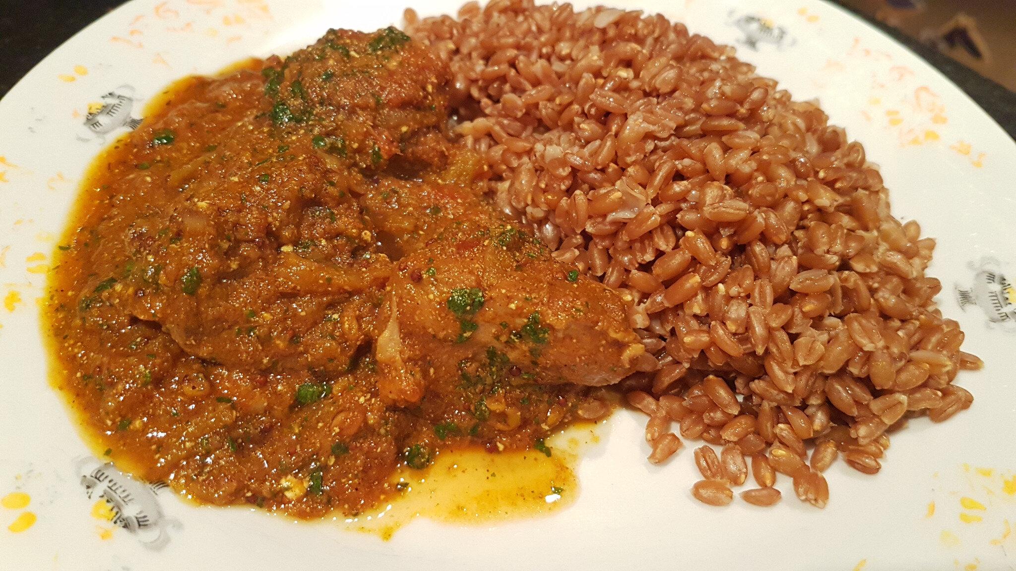 Le curry d'agneau de Tania Maria