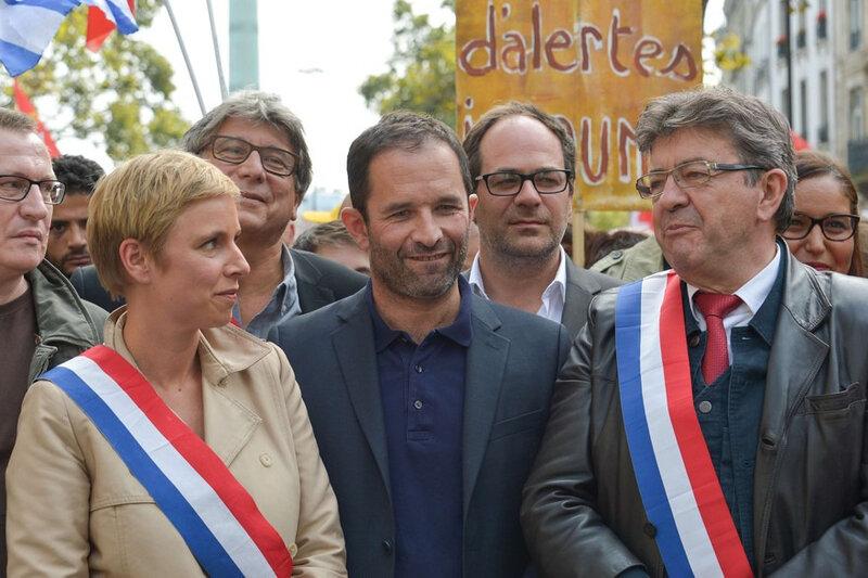 7791254267_clementine-autin-deputee-france-insoumise-benoit-hamon-ancien-candidat-socialiste-a-la-presidentielle-et-jean-luc-melenchon-leader-de-la-france-insoumise