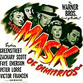 LE <b>MASQUE</b> DE <b>DIMITRIOS</b>