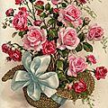 Transfert d'un bouquet pour faire un pochon