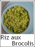 Riz aux brocolis index