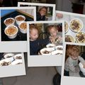 Crumble pommes/bananes/chocolat