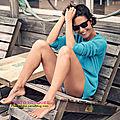 <b>Alessandra</b> Sublet, naturelle et souriante