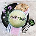 Velouté d'Asperges Blanches d'<b>Alsace</b> ... dites OUI aux légumes même moches !