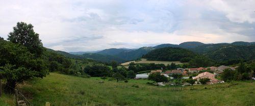 2008 06 15 Panorama de Roumezoux photgraphier à 17h32