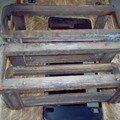 Ancienne machine à coudre SINGER - Avant restauration