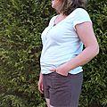 En short pour le défi des basiques + garde robe capsule