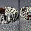 Un bracelet from rags to couture