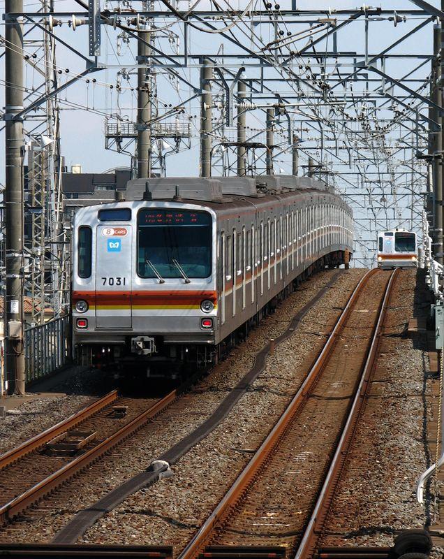 7000系 Yurakuchô line