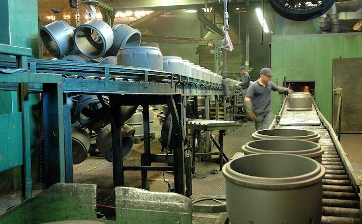 Recyclage des piles alcalines en tambours de frein chez Fiday Gestion