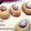 Biscuits sablés cahouètes