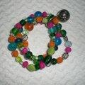 Bracelets... il y en a pour tous les goûts pour fêter l'arrivée du printemps!