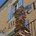 Librairie le bleuet a banon dans les alpes de haute-provence...
